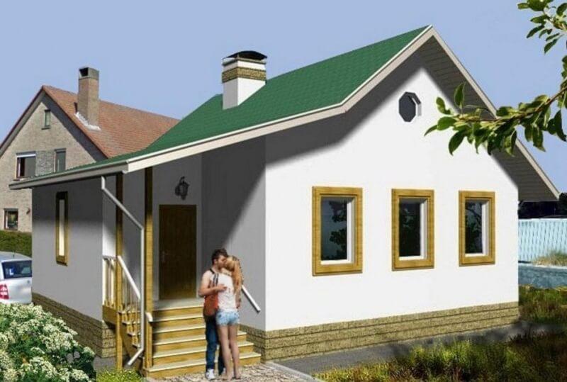 Проект каркасного дома